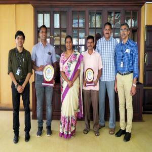 Dr. M. Beena IAS, Chairperson, Cochin Port Trust felicitated the medal winners of All India Major Port Athletic Championships held at Paradip from 16-19 Jan 2020