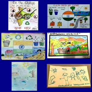Swachhata Pakhwada 2020 - Poster designing competition for children