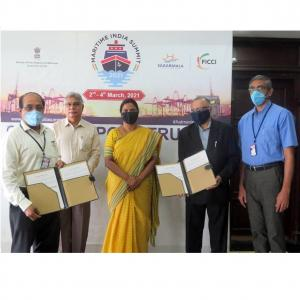 Cochin Port Trust signed MoU with Sai Parmpara Lead Logistics Pvt. Ltd.