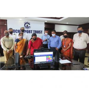 Chairperson inaugurates the Hindi version of Port website